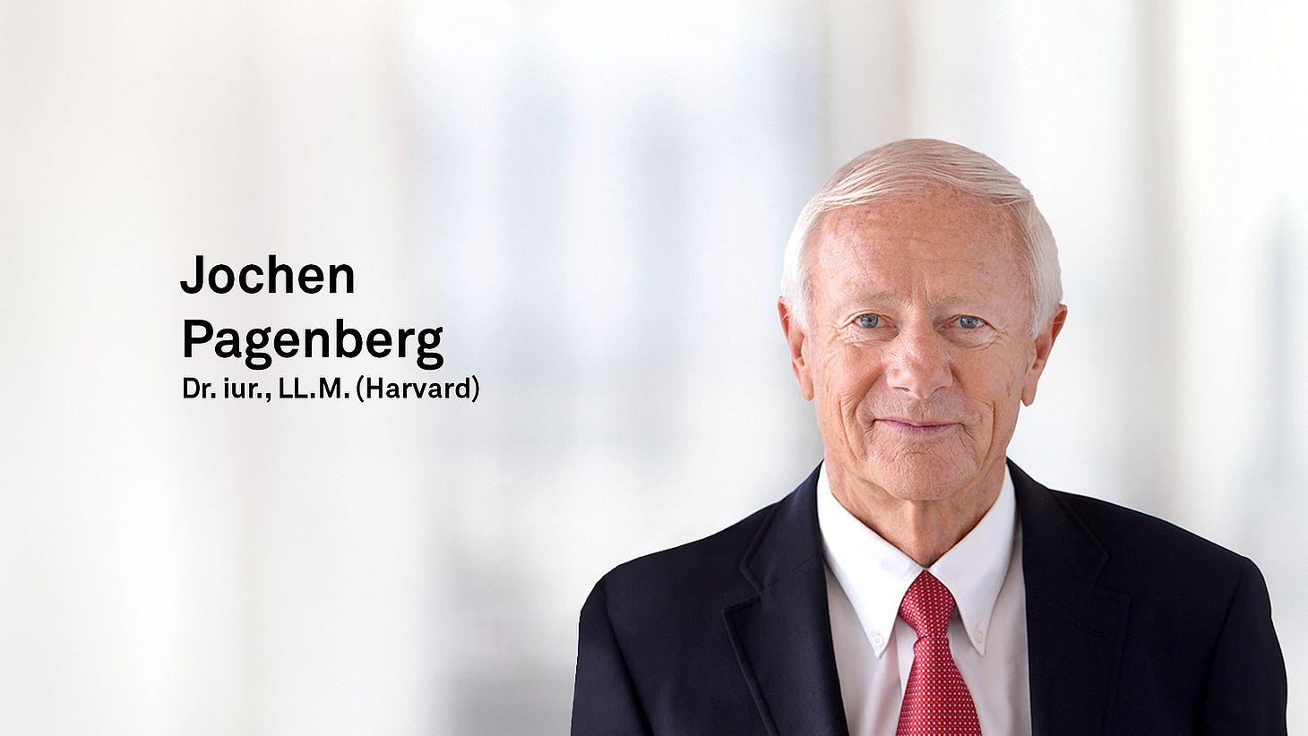 Dr. iur., LL.M. (Harvard) Jochen Pagenberg